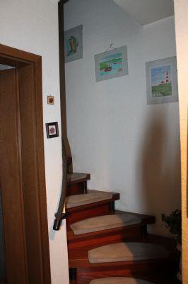 Teppenaufgang zum Obergeschoss