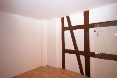 Schlafzimmer mit Fachwerkeleme