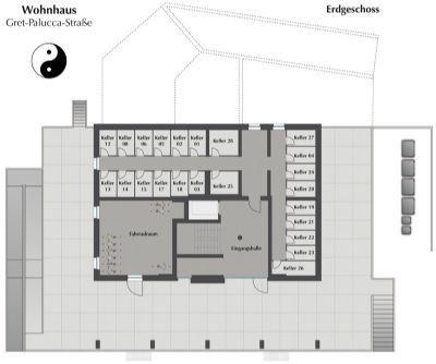 Grundriss Erdgeschoss (Keller)