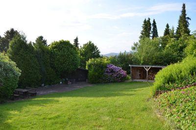 Professionell angelegter Garten