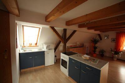 Der Küchenbereich mit Einrichtungsbeispiel