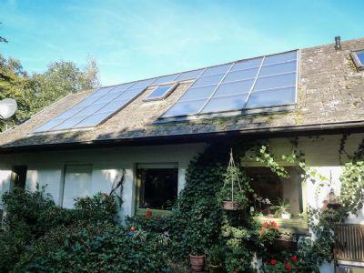 Sonnenkollektor - Anlage