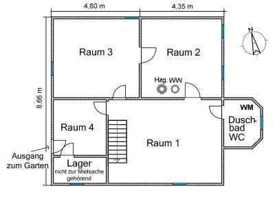Grundriß Kellergeschoss