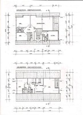 Grundrisse beider Etagen