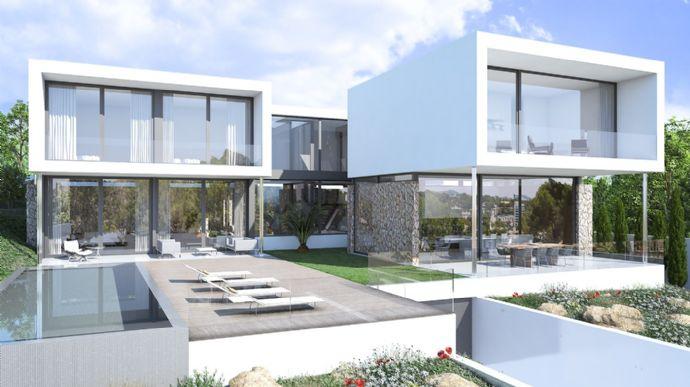 Neues Projekt - Moderne Villa mit schönem Meerblick in Sol ...