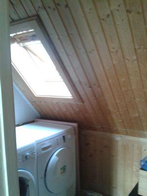 Waschplatz 2 (oben, im Keller auch möglich)