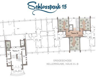 Kellergrundriss - Haus B