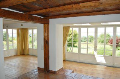Teilansicht des ca. 80 m² großen Wohnzimmers
