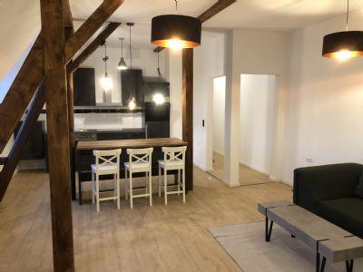 Komplett Sanierte 80m² Wohnung - voll möbliert & ausgestattet