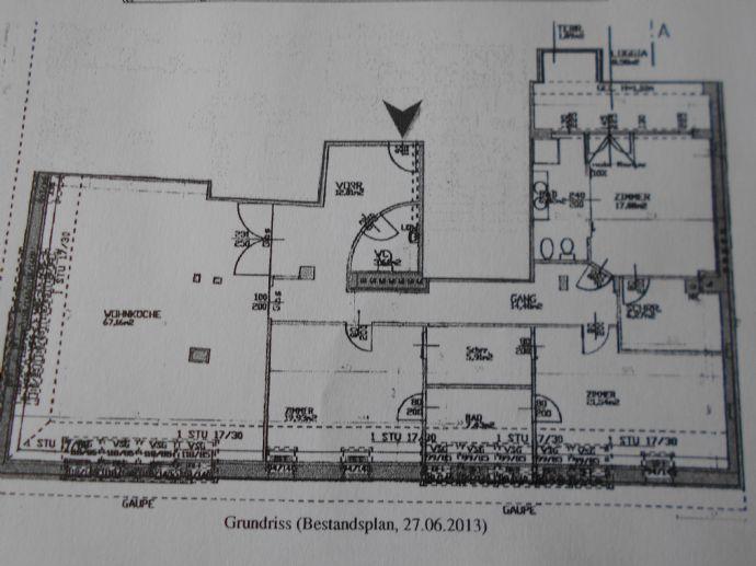 Bild 1 Von 2: Wohnungsplan