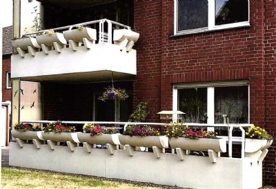 3-Zimmer- Wohnung mit Balkon im Erdgeschoss