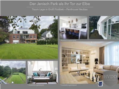 Der Jenisch Park als Ihr Tor zur Elbe - Penthouse Neubau zu verkaufen