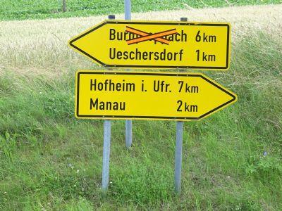 Bis Hofheim 7km