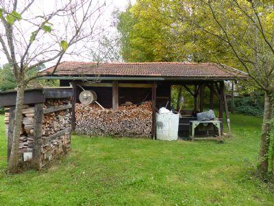 Westansicht Gartenhaus