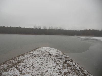 Landzunge am südlichen Ufer