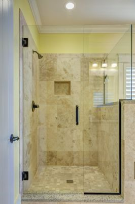 Beispiel : Bodentiefe Dusche