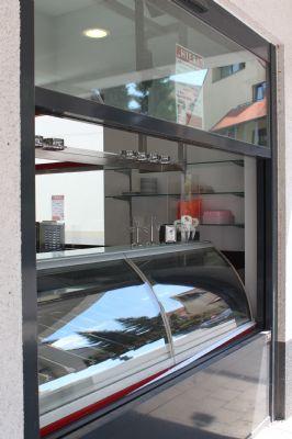 hochwertige Straßenverkaufstheke für Eis etc.