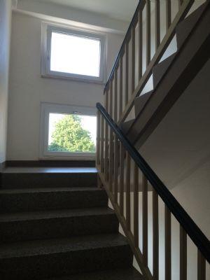 saubere Treppenhäuser