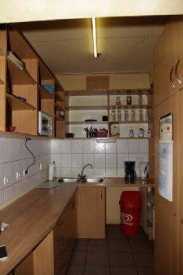 Küche zur Trinkhalle