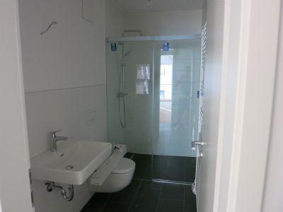 Gästebad/WC mit Dusche