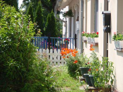 Sommer vorm Haus
