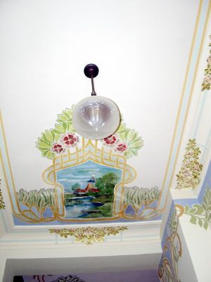 Deckenmalerei Treppenhaus