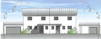 vermietet neubau doppelhaush lfte mit blick auf wiesen und felder doppelhaush lfte. Black Bedroom Furniture Sets. Home Design Ideas