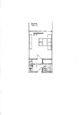 Helles und gemütliches Ein-Zimmer-Appartement in sehr gepflegter Wohnanlage