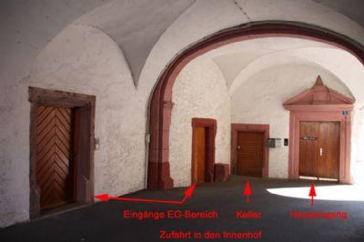 Zufahrt-Hof
