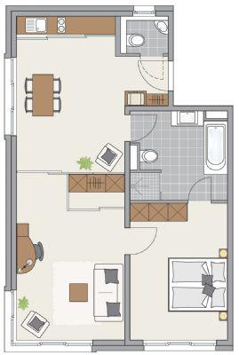 Apartment Typ FRANZ