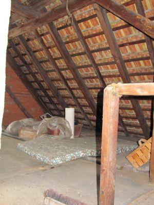 unausgebautes Dach