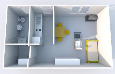 m blierte wohnung mit einbauk che wohnung mendig 2c6zg4q. Black Bedroom Furniture Sets. Home Design Ideas