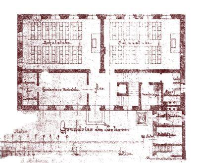 Original Planung Erdgeschoß