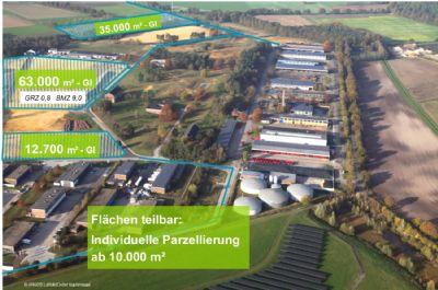 Freie Industrieflächen in Coesfeld