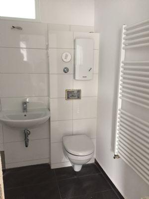 Muster-Badezimmer