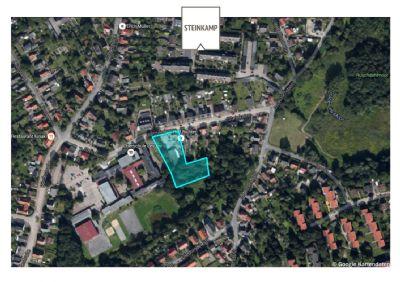 Luftbild Lage des Grundstück