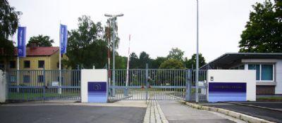 Einfahrt Hainberg Areal (Pforte rechts)