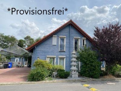 *Provisionsfrei* EFH Holzhaus in Prichsenstadt mit Garten und überdachter Terrasse