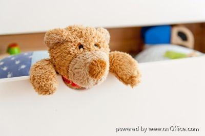 Im Kinderzimmer hat Teddy auch genug Platz :)