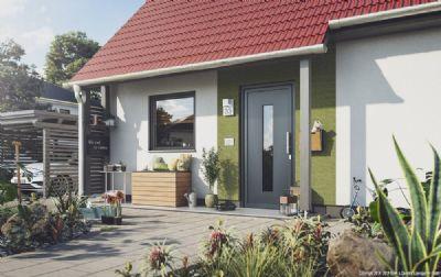 Flair_110_Eingangsansicht_Vordach