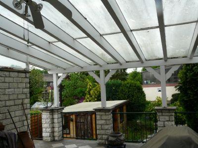 Blick - Terrasse zum Garten
