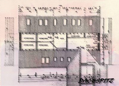 Planung zur Bauanzeige 97: DG (Spitzboden)