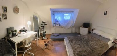 Gemütliche 1-Zimmer- Wohnung in sehr guter Lage.