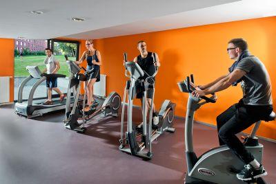 Fitnessraum Gemeinschaftsfläche