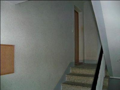 Treppe zum Wohnungseingang