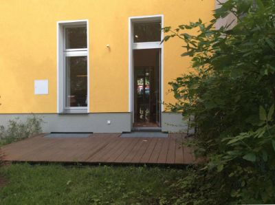 Terrasse EG Hof