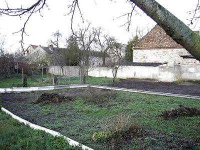 Blick auf den Gartenbereich