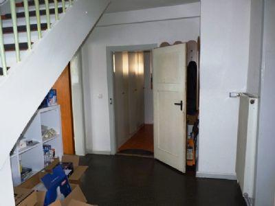 Der Eingangsbereich im Erdgeschoss