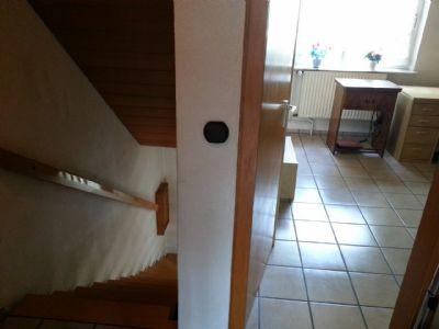 Treppenaufgang und Kinderzimmer
