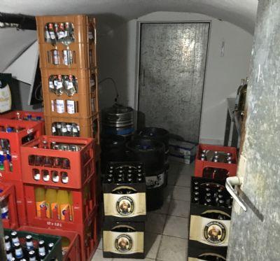 Keller Kühlraum.